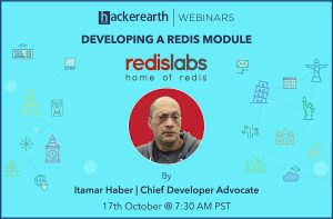 WEBINAR ON DEVELOPING A REDIS MODULE