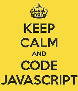 Keep calm and code JavaScript