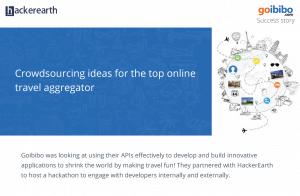 Crowdsourcing hackathon -Goibibo case study