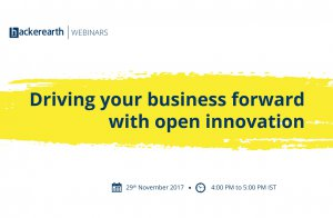 Webinar - Driving your business forward with open innovation