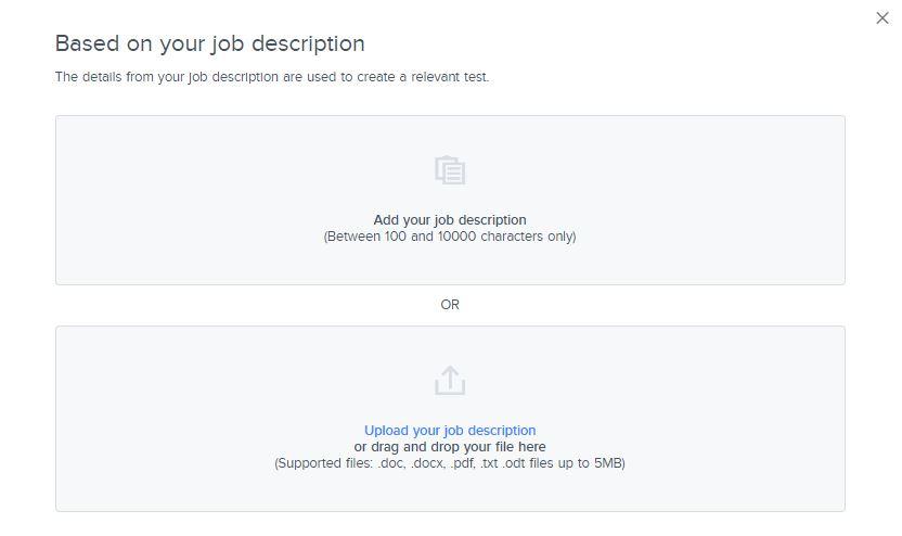 Add job description