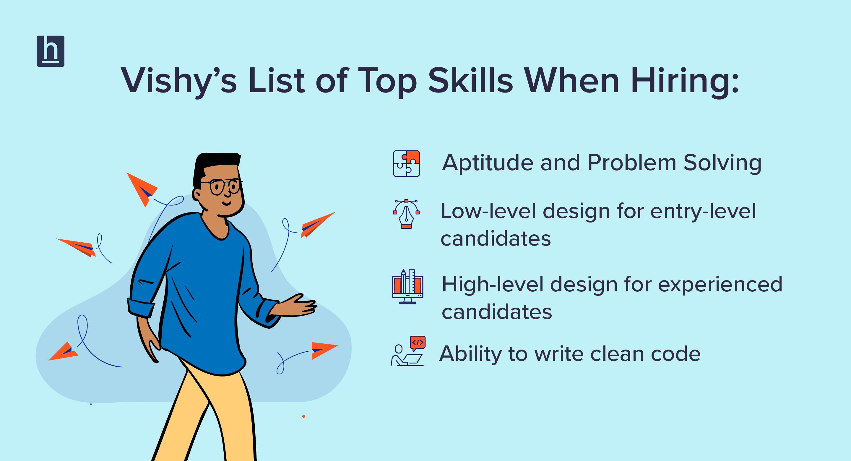 Checklist for skill based hiring - HackerEarth